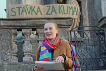 Českokrumlovští studenti se 20. září 2019 přidali k celosvětové stávce za klima.