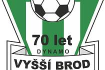 Fotbalový klub Dynamo Vyšší Brod slaví sedmdesátiny.