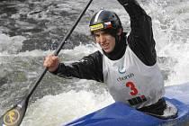 Krumlovský singlkanoista Antonín Haleš (na snímku) je vítězem Classic Canoe Marathon World Series 2012.