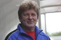 Trenér českokrumlovského fotbalového dorostu Václav Domin.