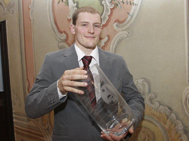 Vítěz sedmnáctého ročníku čtenářské ankety o nejpopulárnějšího sportovce okresu – českokrumlovský badmintonista Pavel Florián.