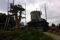 Na Kleti bude požehnáno nové zvoničce.
