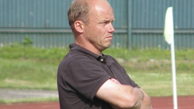 Velešínský trenér Roman Rozkošný.