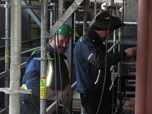 Instalace nového kotle v Domoradicích zabere celý rok.