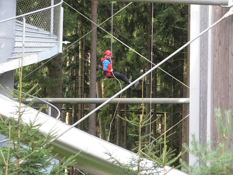 V sobotu 18. září se konala tradiční podzimní akce. Na prostranství u Království lesa v Lipně nad Vltavou představily svou práci složky záchranného integrovaného systému.