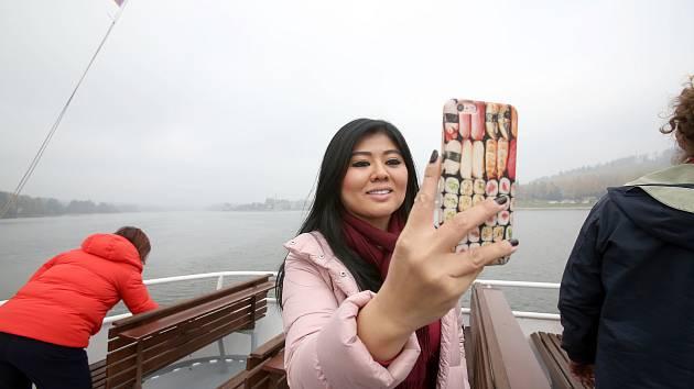 Christine Tan jezdí po světě, fotí luxusní interiéry a krásné krajiny.