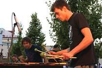 Kaplické hudební léto - koncert Wild Sticks.