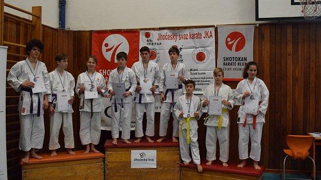 Turnaj v karate, Český Krumlov