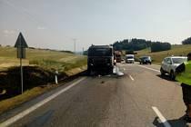 Takto dopadla kabina kamionu.