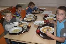 V křemežské jídelně se v rámci projektu Naše posvícení vařilo regionálně.