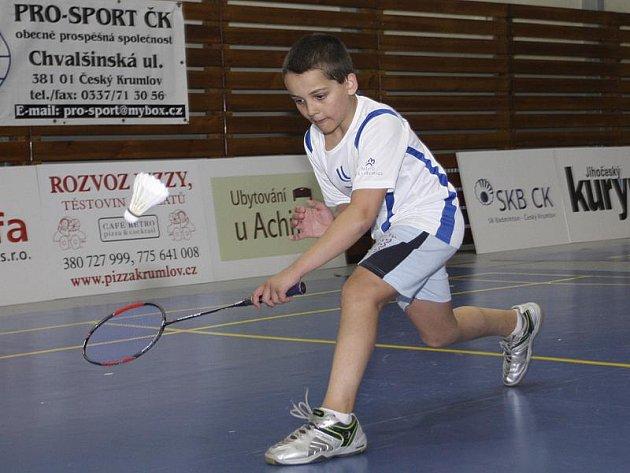 Jednou z českokrumlovských medailových nadějí při domácím šampionátu bude Nicola Siviglia.