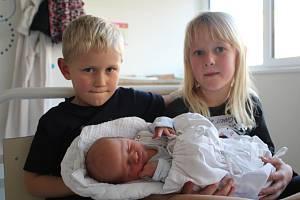 Pavel Gahut, který se narodil Nele Černocké a Danielu Gahutovi 10. prosince 2019 ve 13.52, bude vyrůstat ve Slavkově se čtyřletým bráškou Pepíčkem a šestiletou sestřičkou Sárinkou. Při narození vážil 3 190 g a měřil 49 cm.
