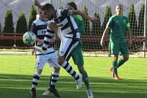 Kapličtí fotbalisté podlehli Prachaticím 1:2.