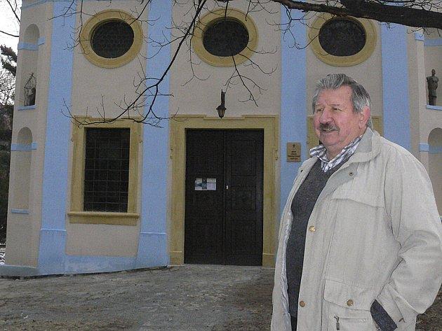 Lubomír Braný z Církve československé husitské má, kromě opravené kaple, radost i z toho, že se objekt stane jednou ze zastávek celoevropské Via Martini. Pouti Svatého Martina.