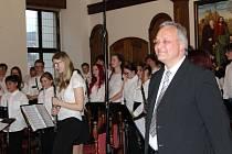 Koncert Dechového koncertu ZUŠ Český Krumlov slavil velký úspěch.