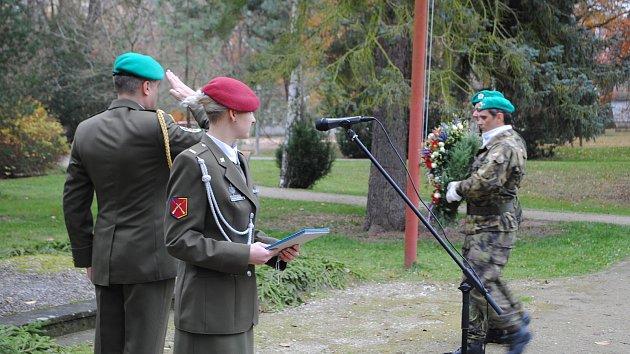 Den veteránů si připomněli i v Českém Krumlově