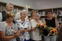 Slavnostní otevření zrekonstruované knihovny v Blansku u Kaplice.