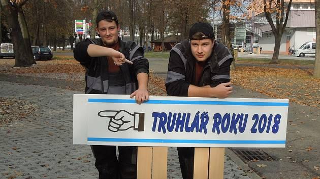 Štěpán Bigas (vlevo) a Martin Soběslavský ze SOŠZ a SOU Český Krumlov.