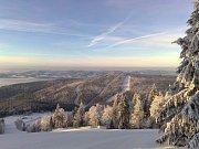 Zimní sezona na Hochfichtu.