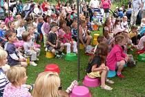 Program pro děti na Křemžeském veletrhu.