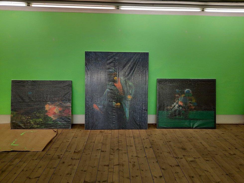 V krumlovském Egon Schiele Art Centru připravují sezónu 2021/22. Obrazy z výstavy Aleny Anderlové míří do několika sbírek v Evropě i v USA.