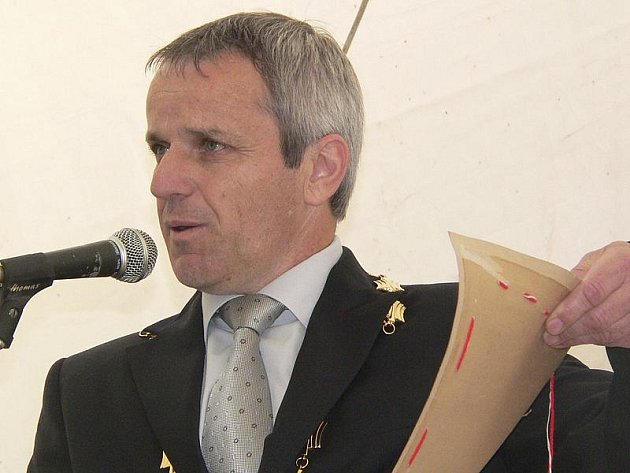 Markétskou pouť oficiálně zahájil starosta Horní Plané Jiří Hůlka.