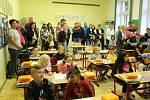 První školní den v ZŠ Větřní.