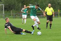 Ve fotbalovém přeboru Českokrumlovska se v desátém kole odehrála pouze polovina plánovaných zápasů...