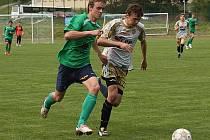 Fotbalové utkání A skupiny divize mladšího dorostu / FK Slavoj Český Krumlov - 1. FK Příbram B 0:5 (0:1).