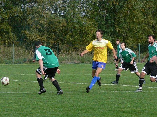 Křemže hrála se Srubcem nerozhodně 3:3.