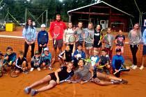 Letos se příměstského táboru zúčastnilo dvacet dětí.