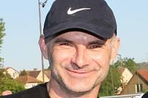 Trenér fotbalistů prvního týmu kaplického Spartaku Bohdan Malický.