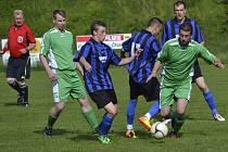 V příští sezoně okresního přeboru mužů již k souboji naposledy stříbrných Chvalšin a bronzového Vyššího Brodu (momentka) nedojde, neboť třetí Dynamo využilo možnost posunu do I.B třídy.