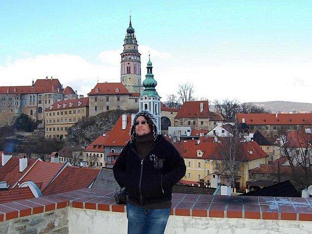 Český Krumlov dýchá podle Tomáše Kohouta kouzelnou atmosférou. To je jeden z důvodů, proč se do jižních Čech často vrací.
