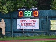 OP muži - 4. kolo: FK Slavoj Český Krumlov B (černé dresy) - FK Dynamo Vyšší Brod 0:10 (0:4).