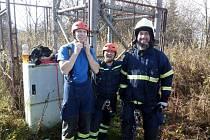 Hasičárna a některé z akcí loučovických hasičů.
