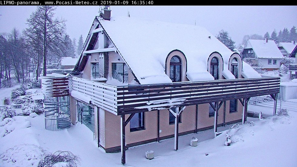 V pondělí Luděk Fyrbach naměřil nejnižší teploty letošní zimy na Lipensku. Jedná se o mínus 21,7 stupňů Celsia.