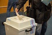 Volby ve Velešíně.
