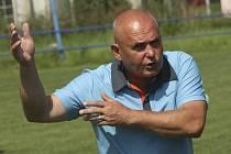 Zkušený trenér Lubomír Pintér.