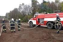 Na místo vyrazily dvě jednotky profesionálních hasičů ze stanic Český Krumlov a Frymburk.