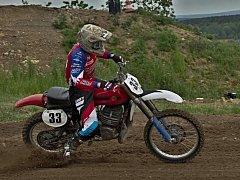 Ukradený motokrosový motocykl značky ČZ 380 klasik