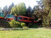 Na Českokrumlovsku u Mříče se srazily dva vlaky.