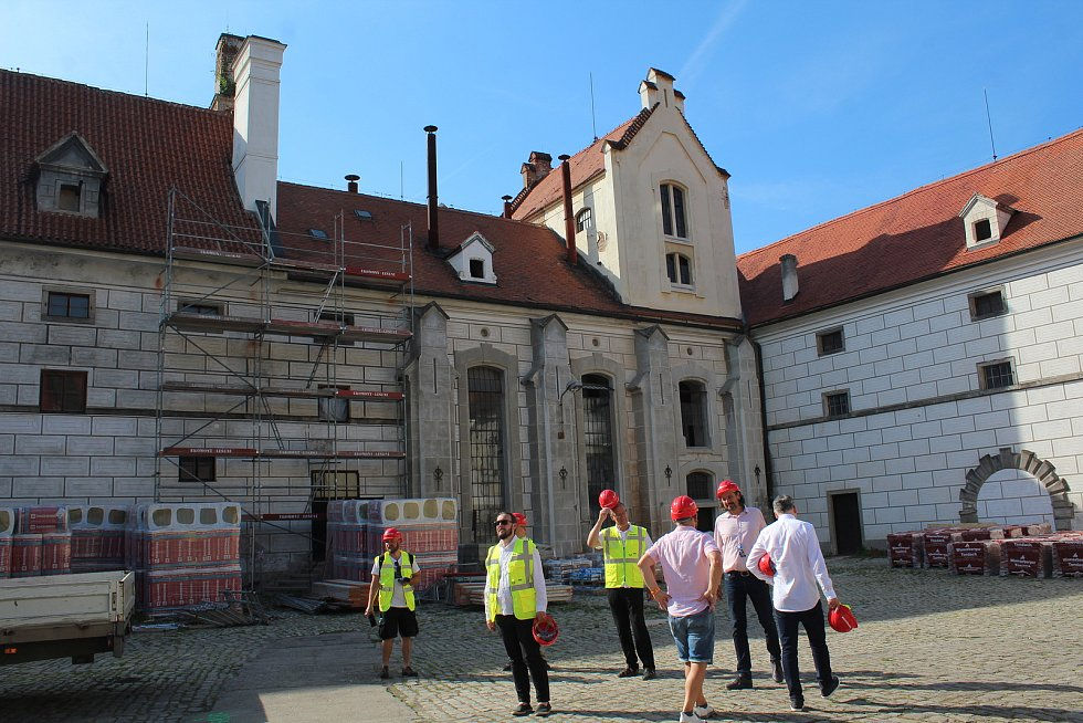 Investoři představili projekt revitalizace části bývalého pivovaru Eggenberg v Českém Krumlově.