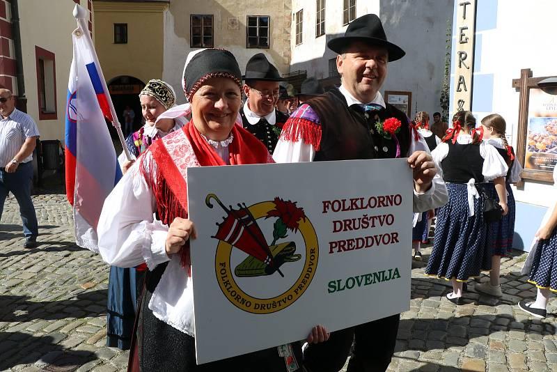 Svatováclavské slavnosti v Českém Krumlově.