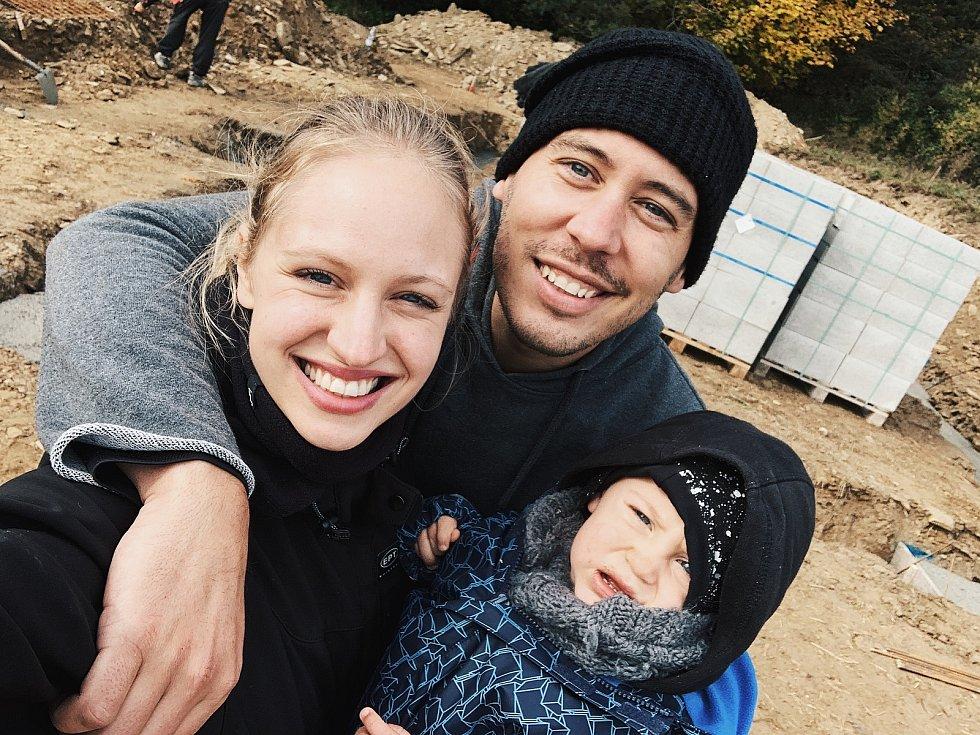 Pavel Podruh s rodinou.