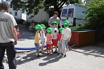 Dětský den přichystali hasiči z Prostředních Svinců spolu s hasiči dolnotřebonínskými.