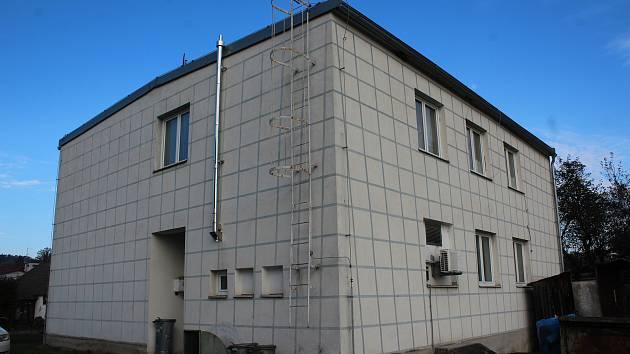 Dům v Dolním Dvořišti, v němž mladý pár bydlel.