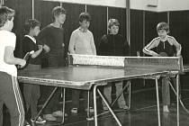 Děti se v Benešově nad Černou tužily ve stolním tenisu.