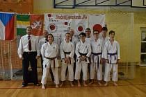 Členové českokrumlovského Shotokanu startovali na krajském přeboru v karate.