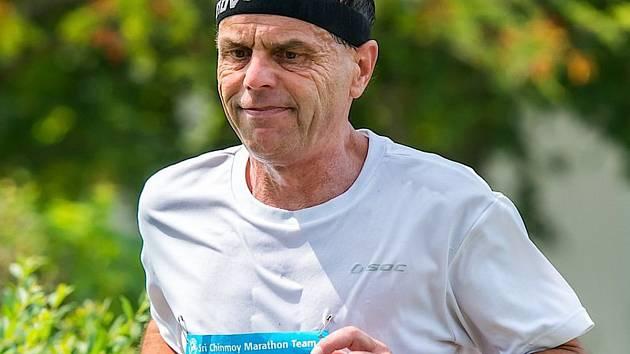 Karel Voráček si vydobyl stříbro při Mistrovství ČR v běhu na 24 hodin.